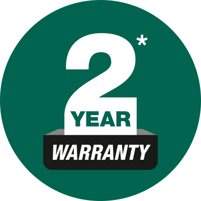 Feature Icon - 2 Year Warranty