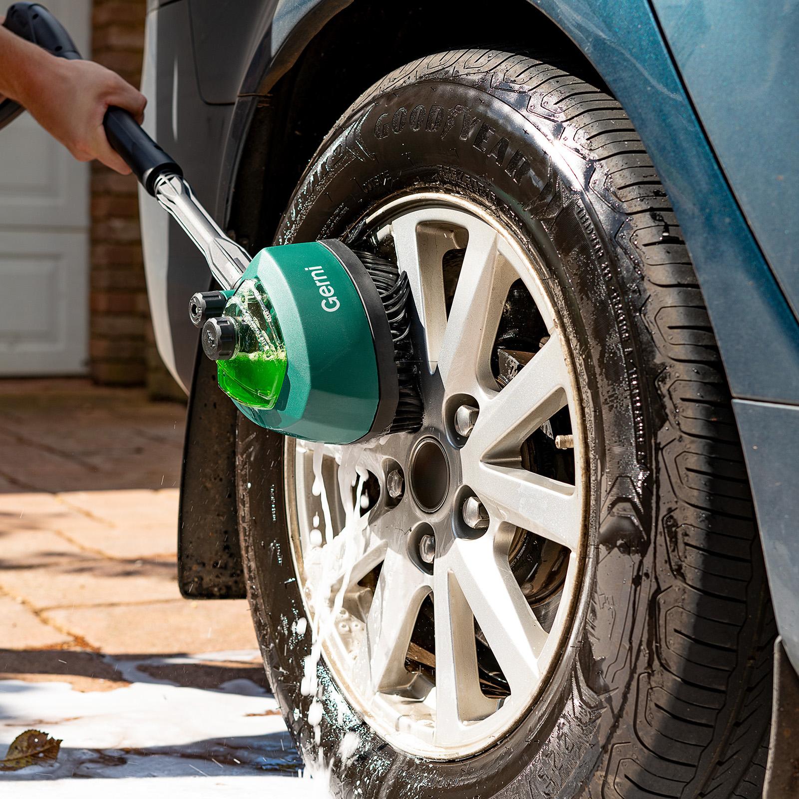 Gerni Rotary Detergent Brush - Car Wheel Commodore