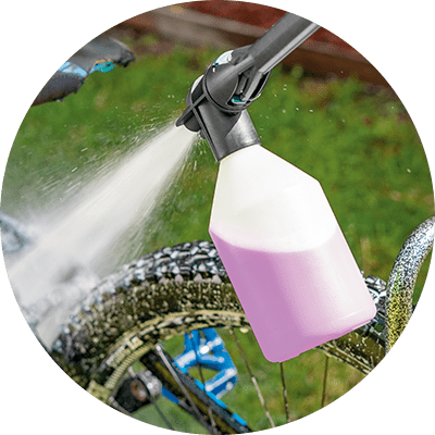 Feature Icon - All Purpose Detergent - Spray On Hose Off