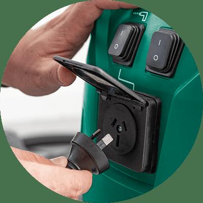 Feature Icon - Gerni 9000 - Power Take-Off Socket