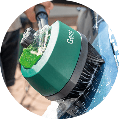 Feature Icon - Rotary Detergent Brush - Detergent Tank
