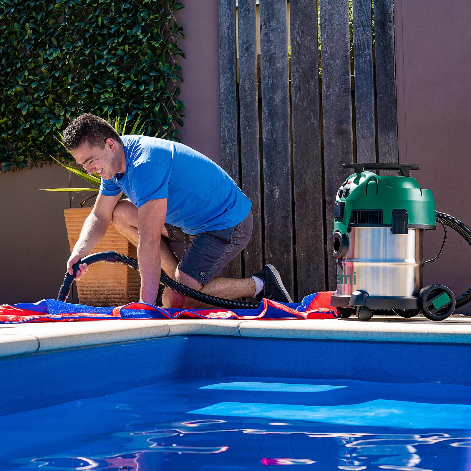 Gerni 9000 - Vacuum Blower Function - Inflate Pool Toy