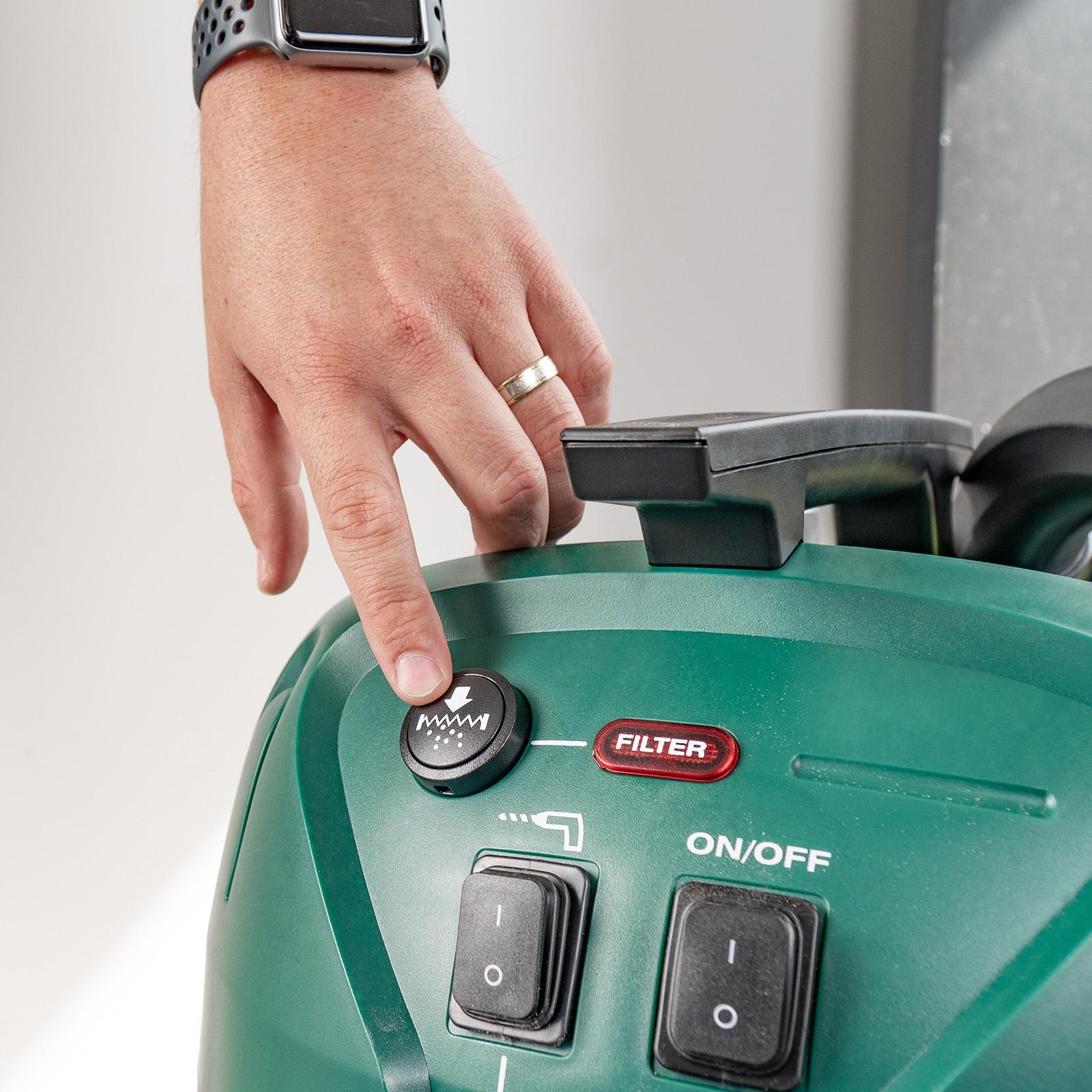Gerni 9000 - Filter Clean Button