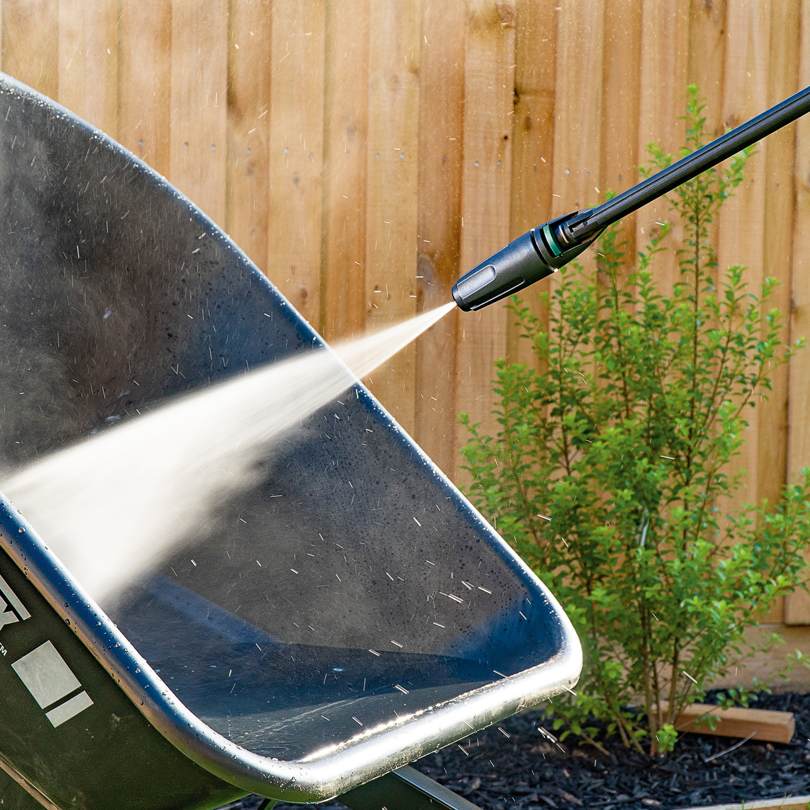Gerni Jet Spray Nozzle - Clean Wheelbarrow Cement