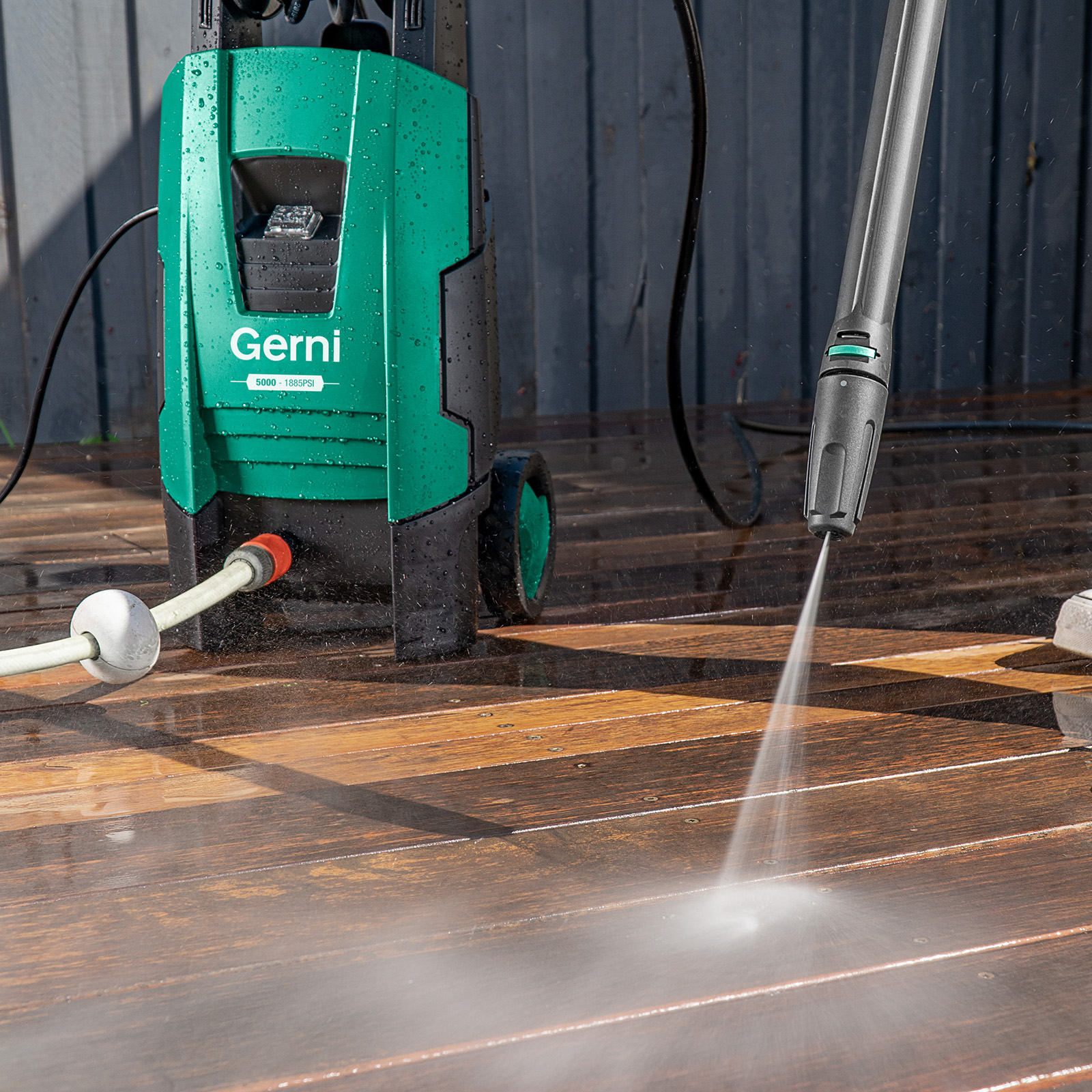 Gerni 5000 - Jet Spray Nozzle - Shed Deck Patio