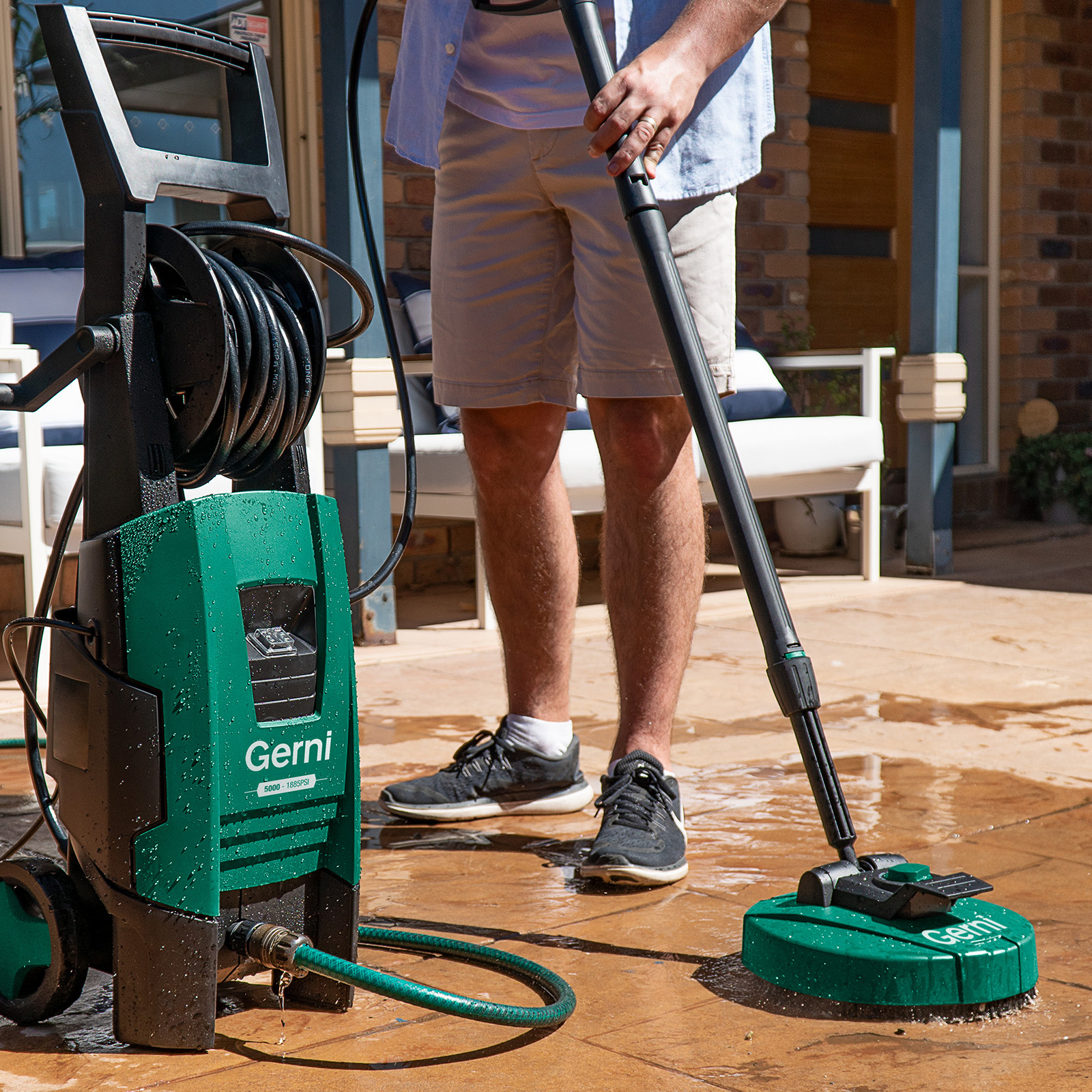 Gerni 5000 - Mid Patio Cleaner