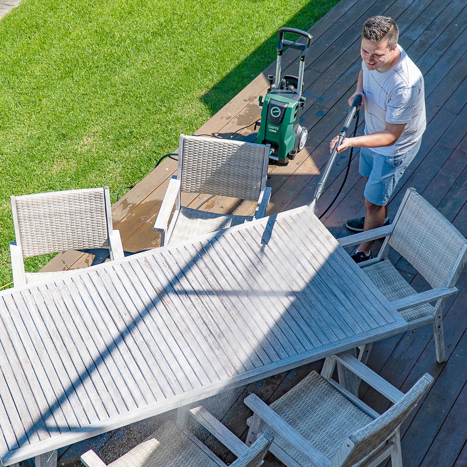Gerni 5300 - Pressure Clean Outdoor Setting Furniture