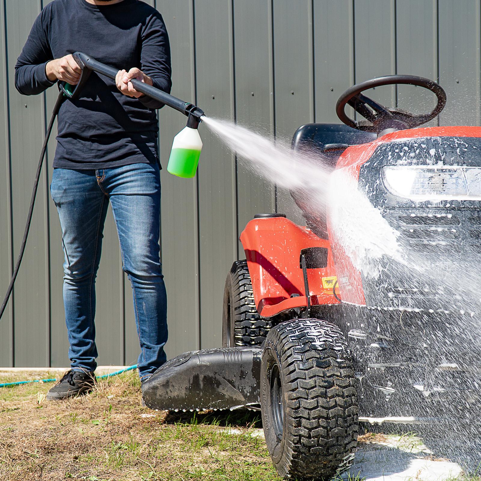 Gerni Foam Sprayer - Multi Wash Detergent - Garden Ride-On Lawn Mower