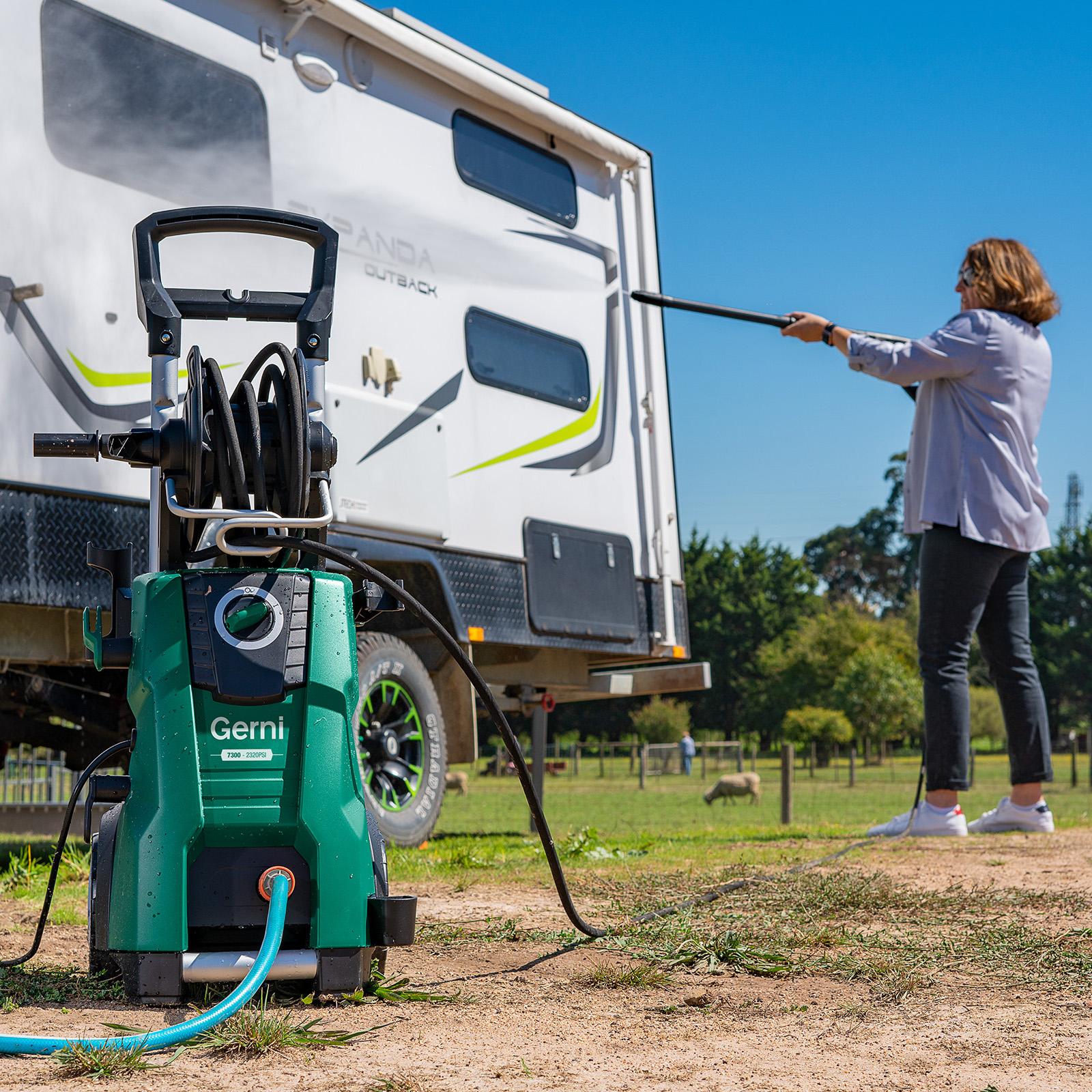 Gerni 7300 - Pressure Wash Caravan