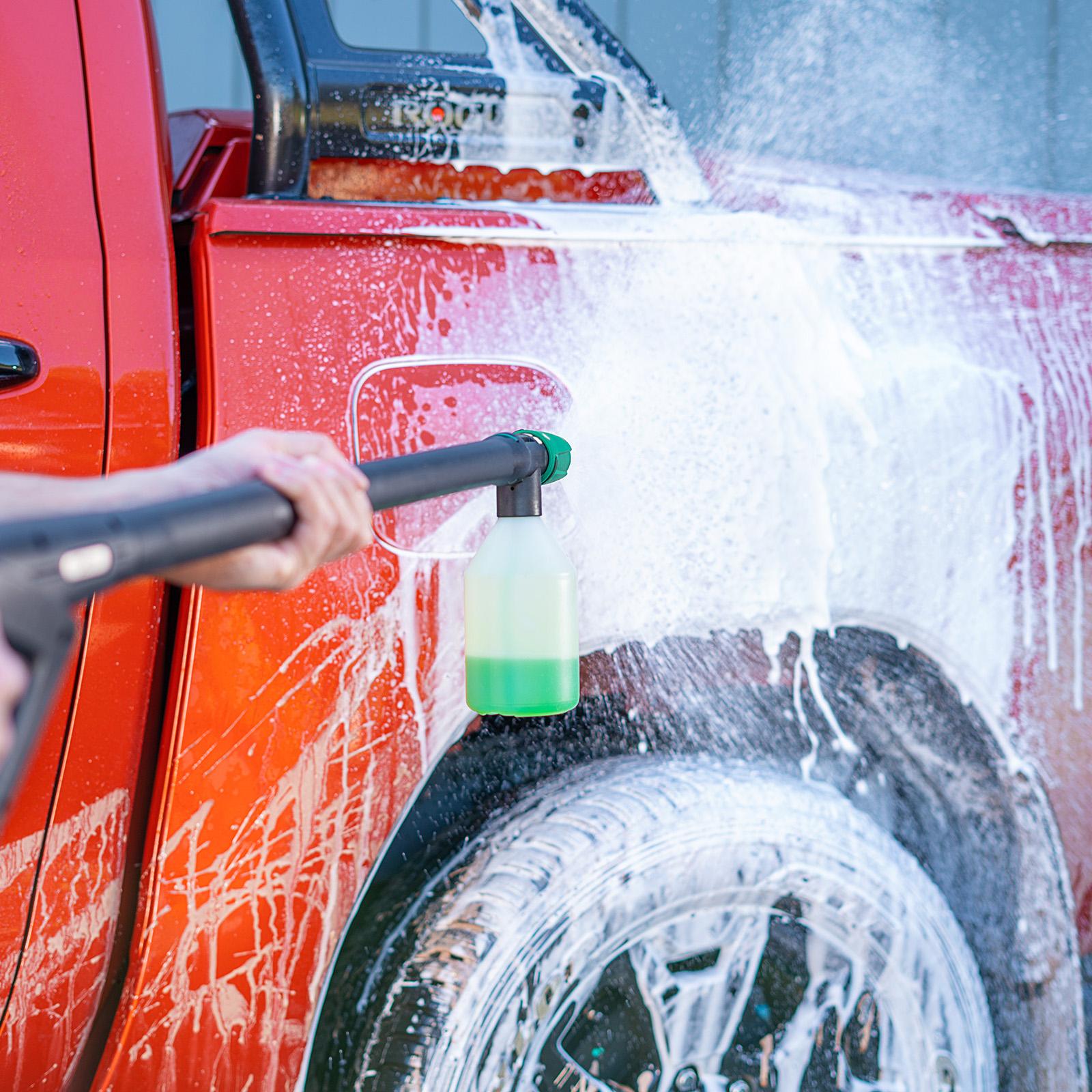 Gerni Super Foam Sprayer - Car 4WD Hilux - Multi Wash Detergent