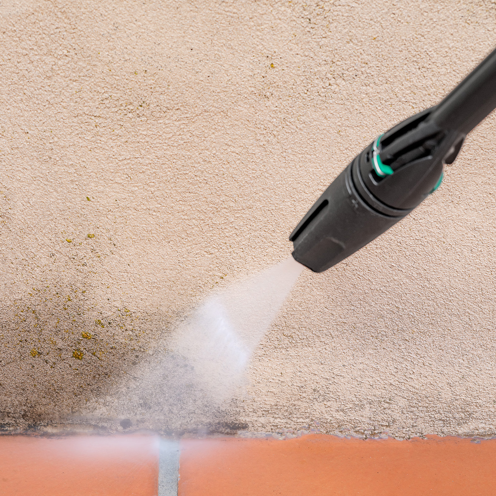 Gerni Variable Speed Nozzle - Concrete Wall Clean