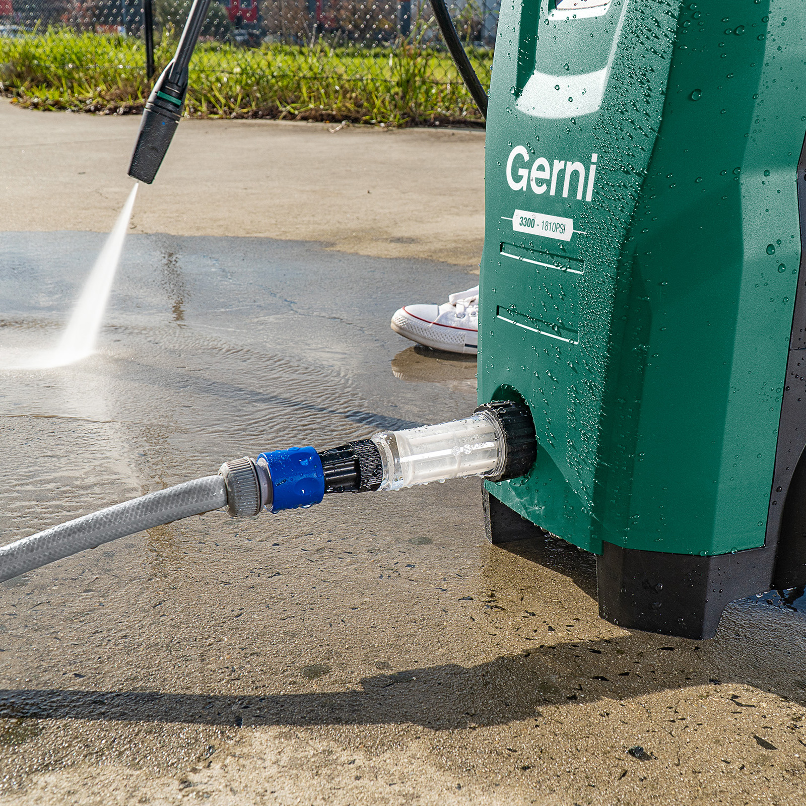 Gerni Water Filter - Hose Connection