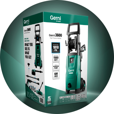 News Icon - Gerni 3600 Packaging