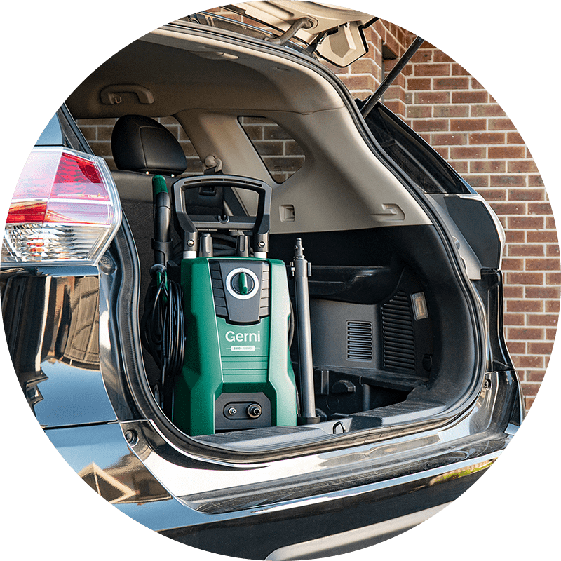 News Icon - Pressure Washer - Car Boot